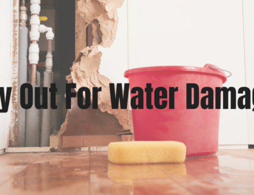 Dry Out For Water Damage