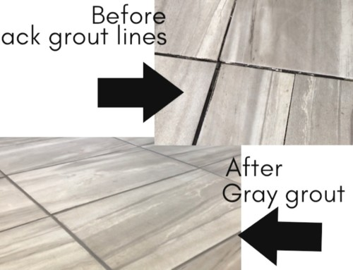 Grout Cleaning and Color Changing